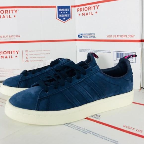 sports shoes 9864d 82ed4 Mens Adidas Originals Campus Shoes BZ0066 Size 5